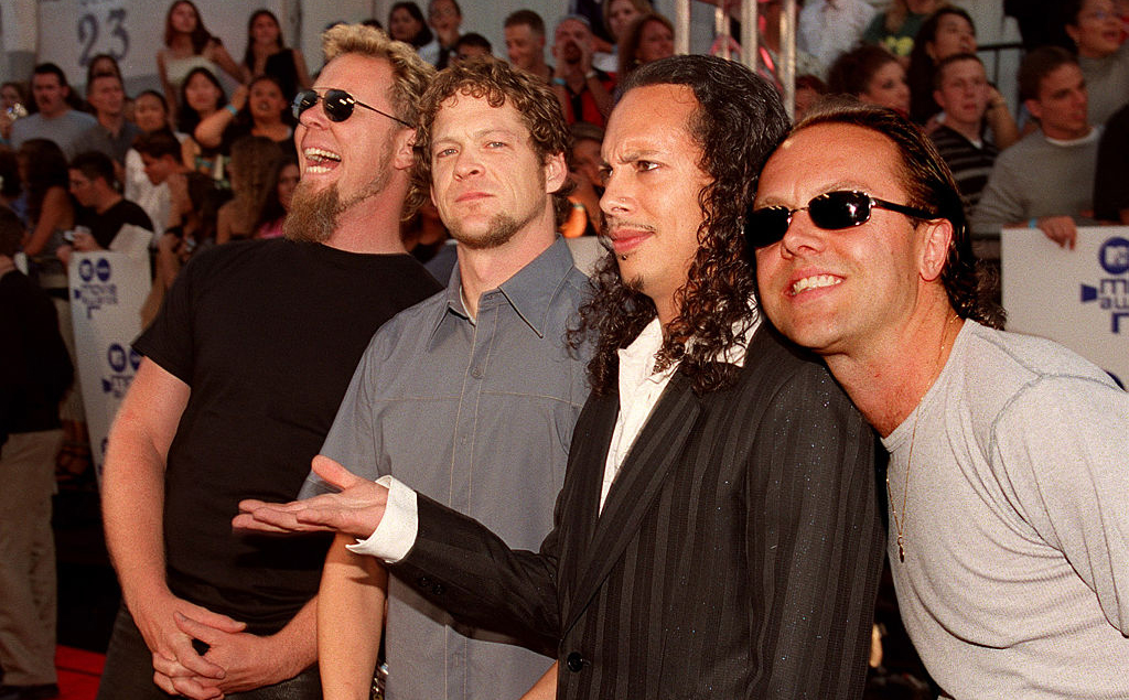 Metallica at the MTV Music Awards