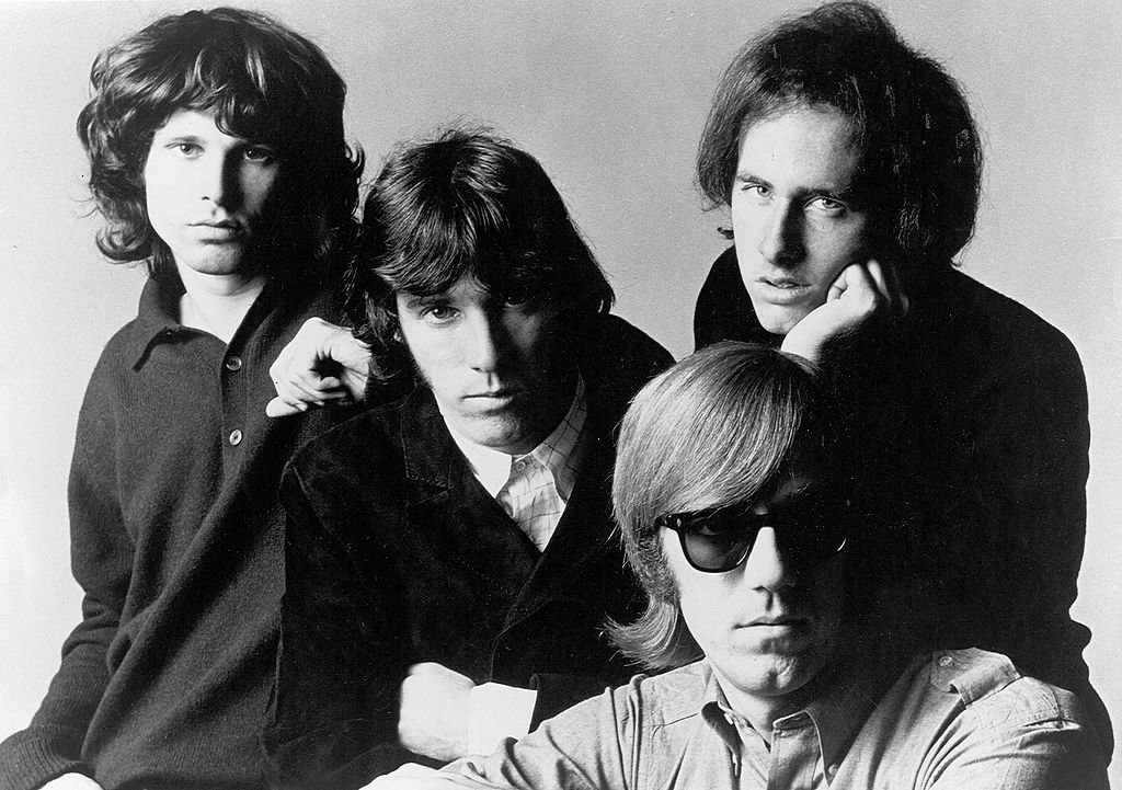 The Doors posing for promotional photos