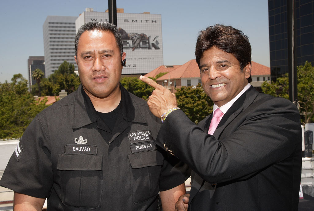 erick estrada with the lapd