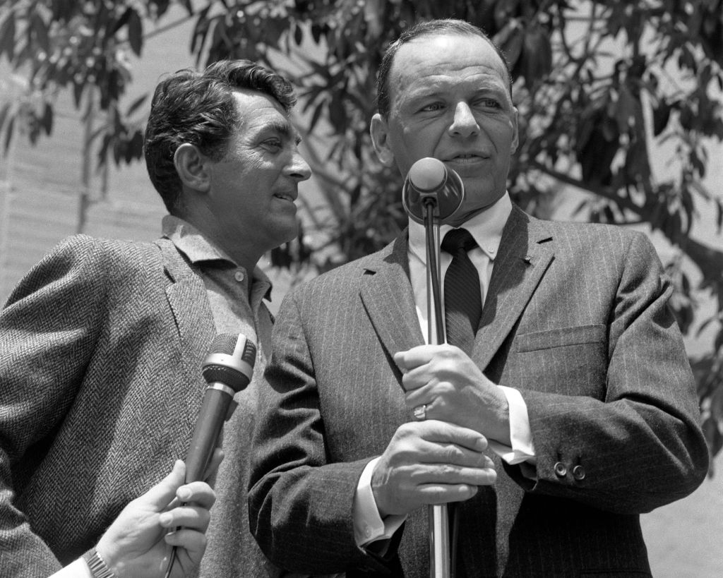 Martin Met Frank Sinatra For The First Time At The Riobamba Nightclub