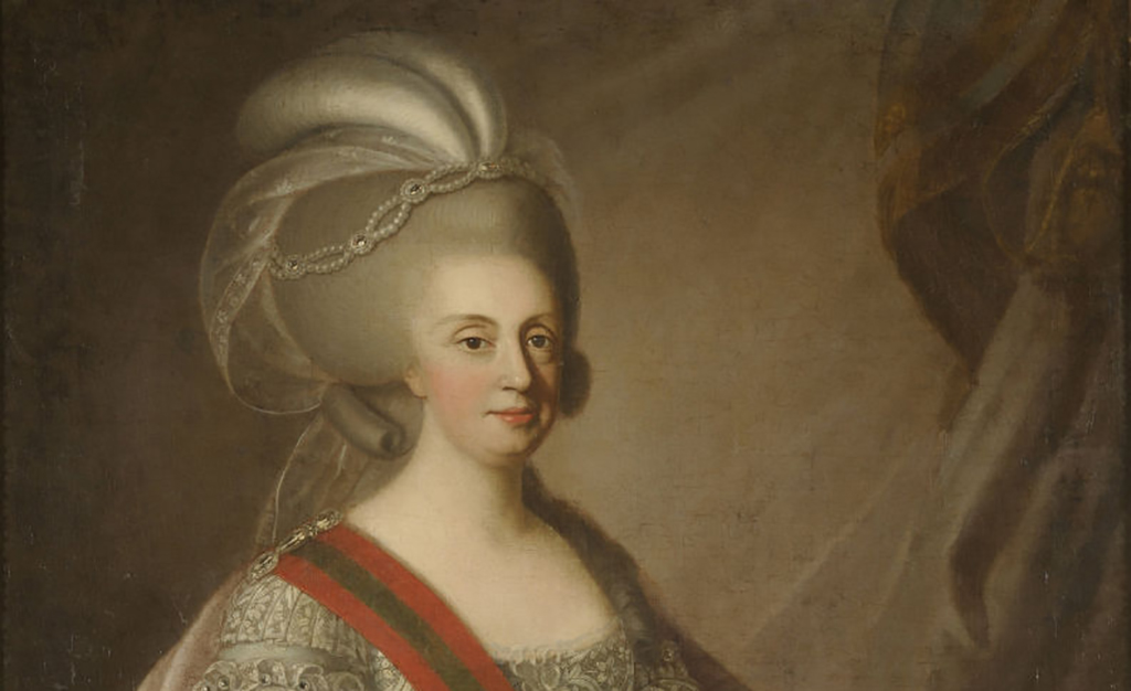 Painting of Queen Maria