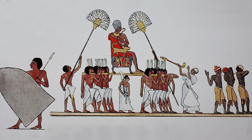 Drawing of King Horemheb