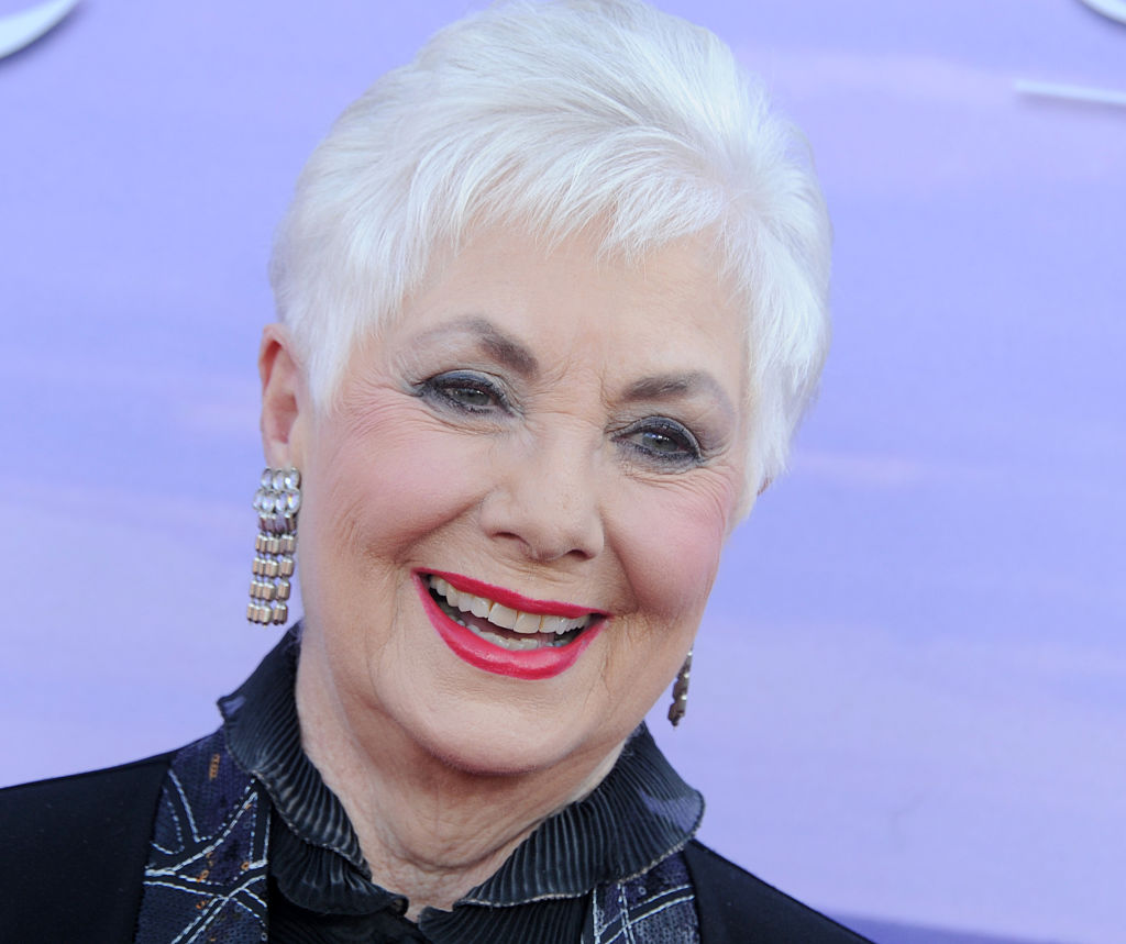 Shirley Jones arrives at the Hallmark Channel