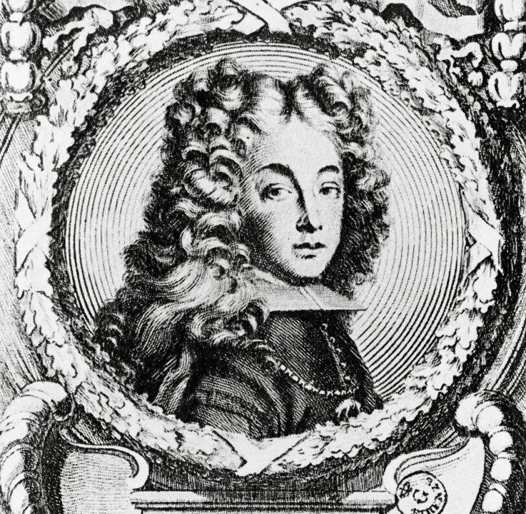 engraving of Philip V of sprain