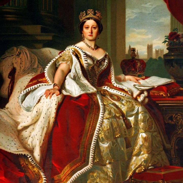 queen victoria oil on canvas