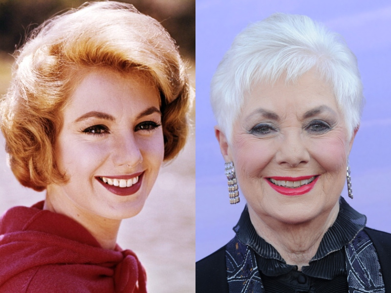 Young Shirley wears the same smile as her older, white-haired self.
