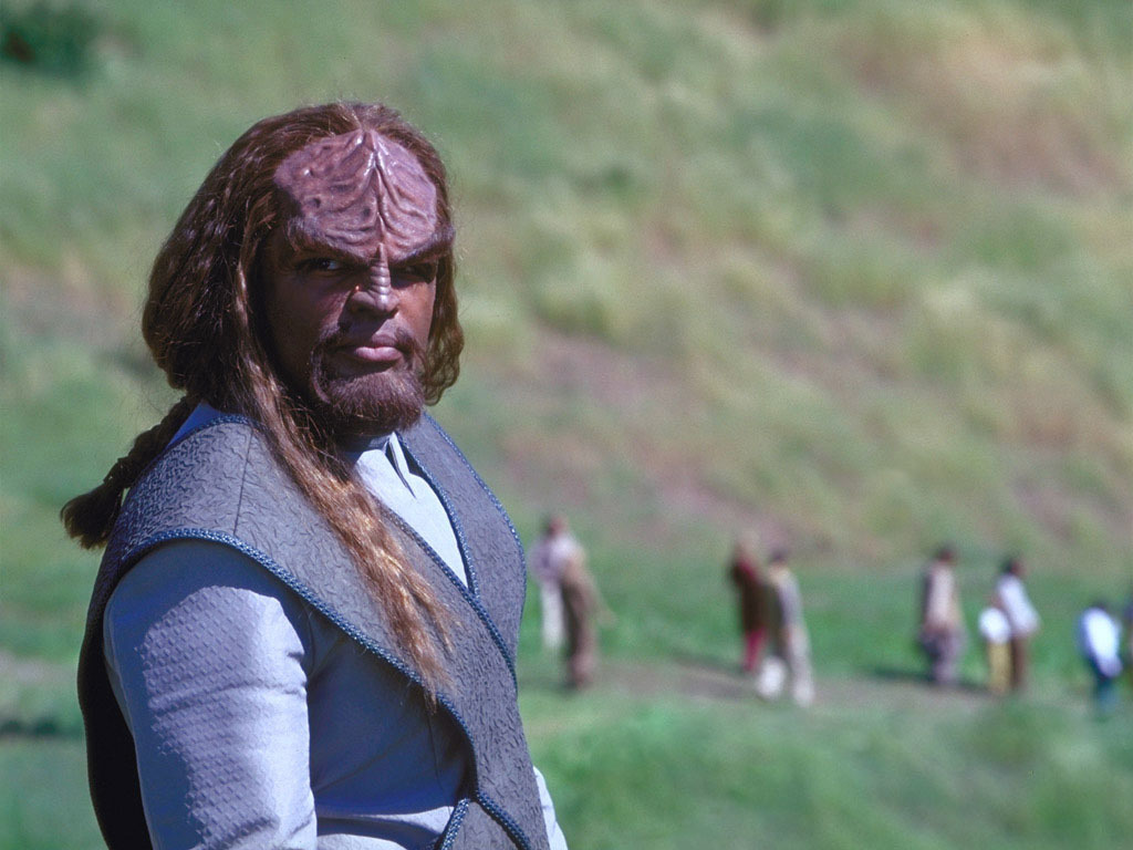 michael dorn in star trek insurrection