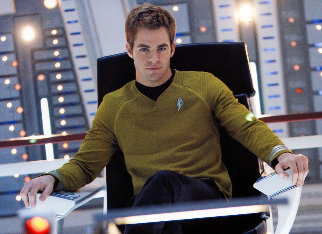 star-trek 2009 reboot actor chris pine