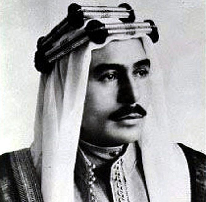 talal ibn abdallah kind of jordan portrait 1951