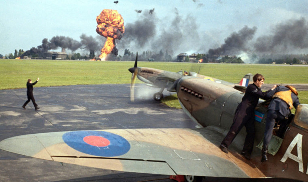 Scene from The Battle of Britain