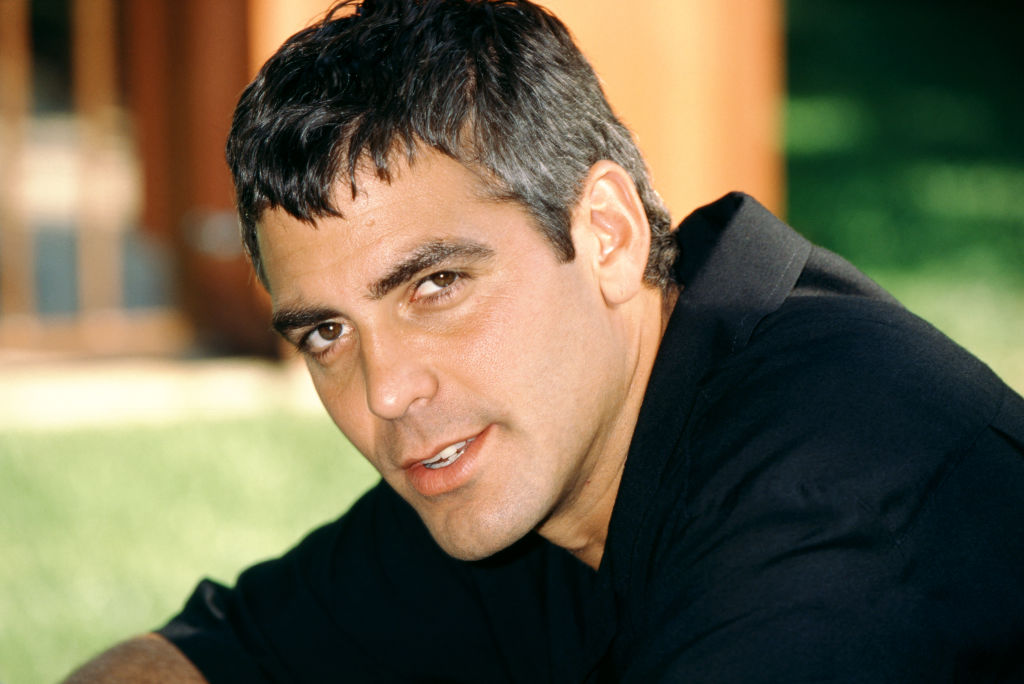 American actor George Clooney poses for a portrait circa 1998