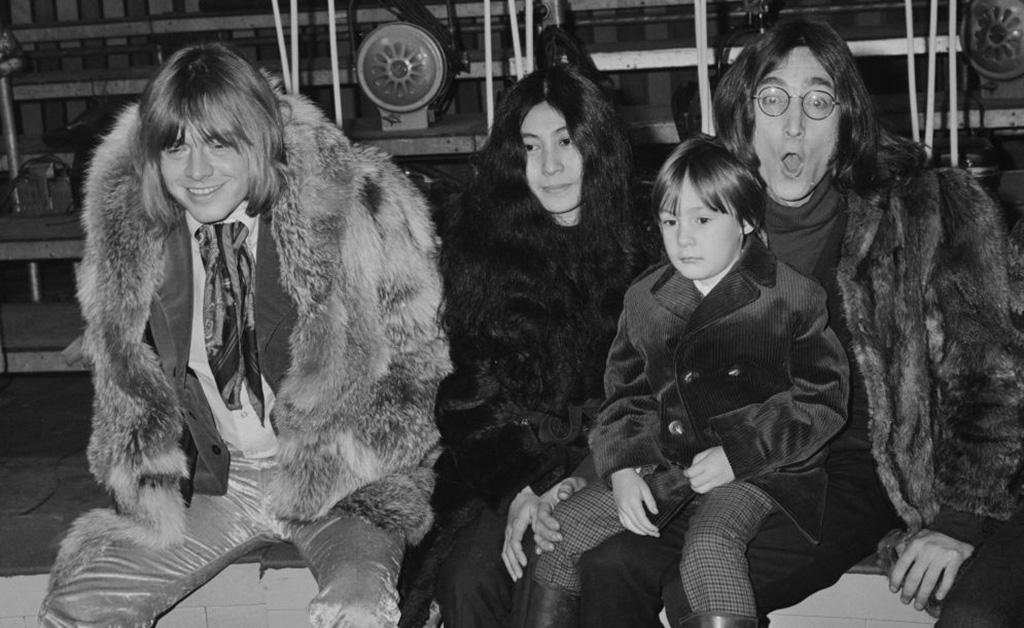 Lennon, Ono, and Sean