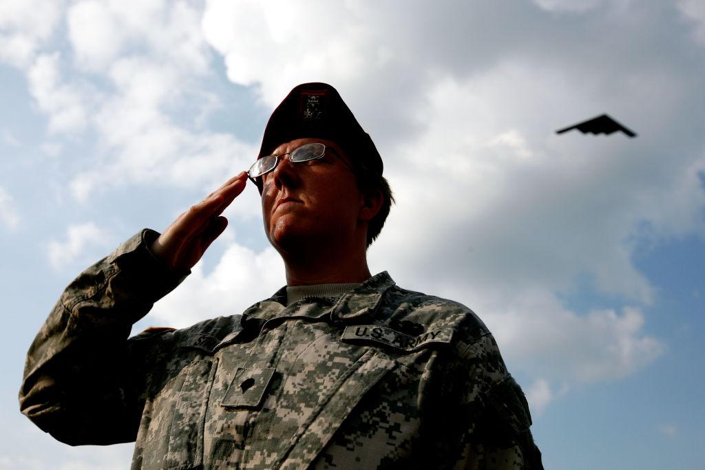 b-2 salute