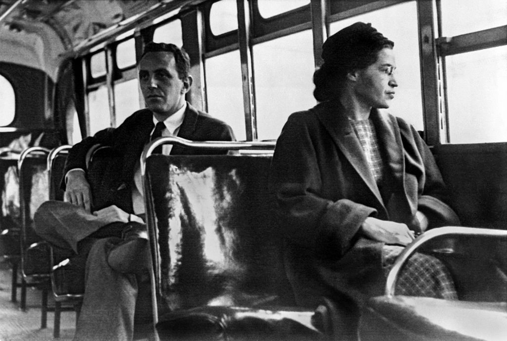sitting rosa parks