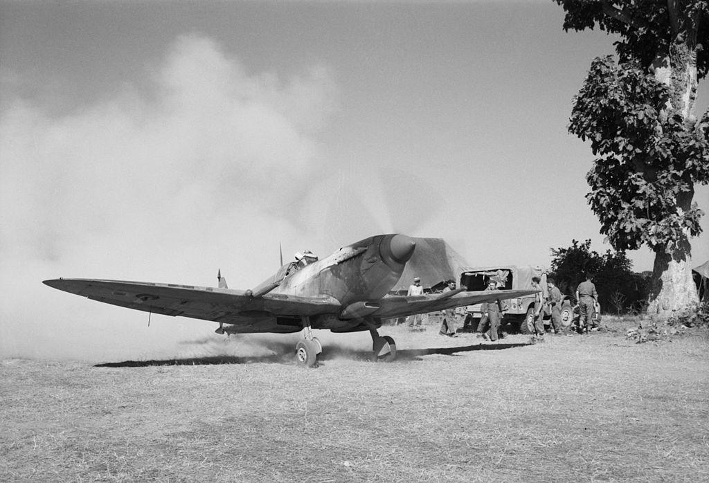 Spitfire in Burma