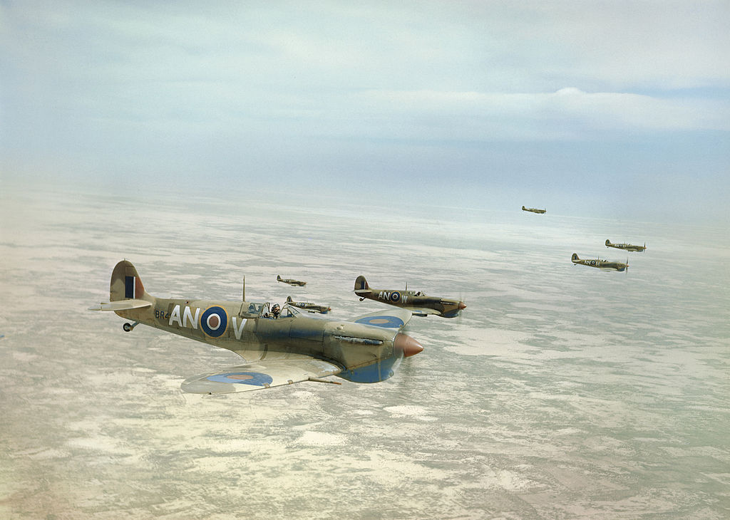 Planes used by the Canadian Air Force