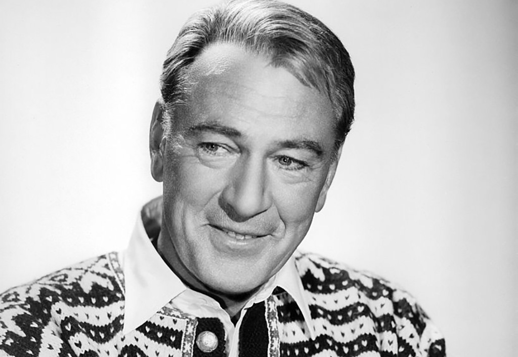 Gary Cooper wearing a sweater