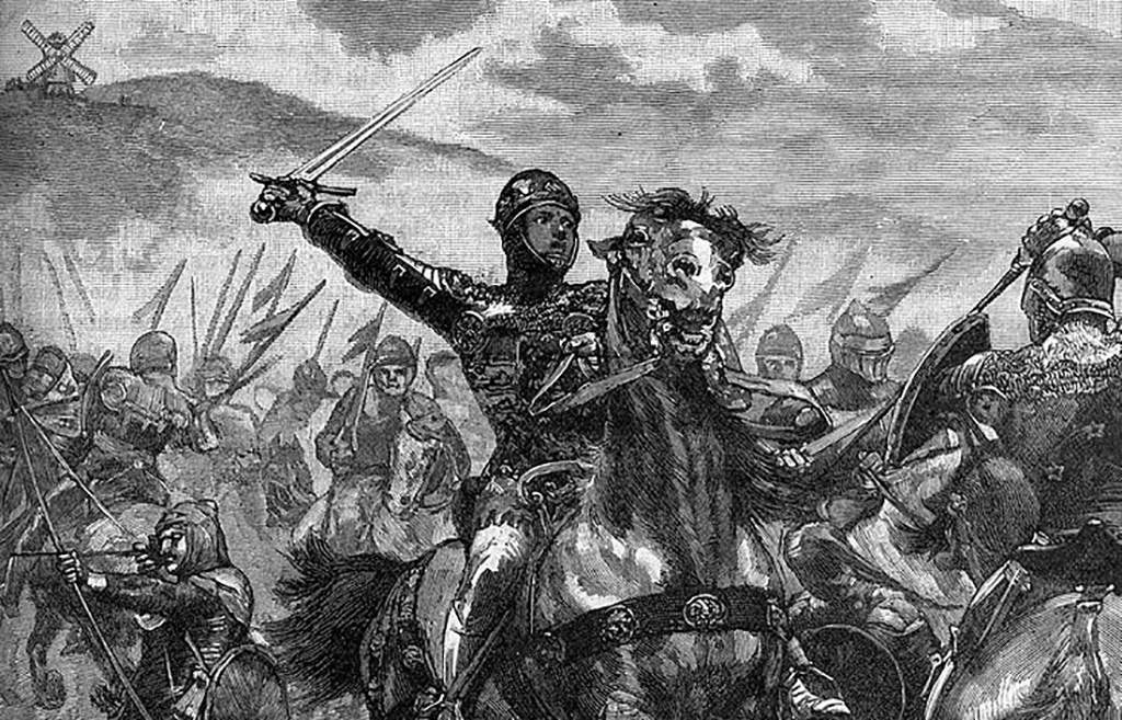 The Black Prince in battle