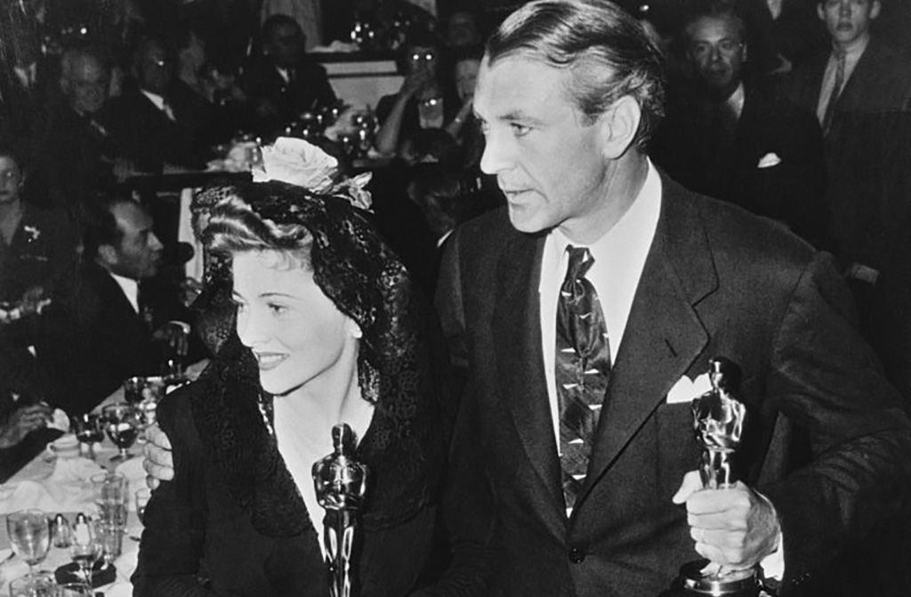 Cooper with Academy Award