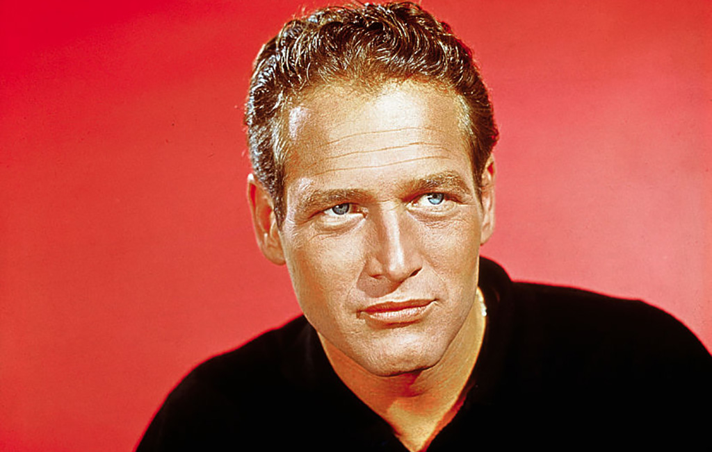 Paul Newman's blue eyes