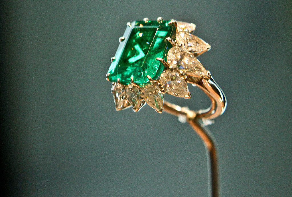 Bulgari Emerald Square-cut Ring