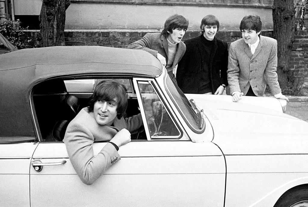 Lennon driving
