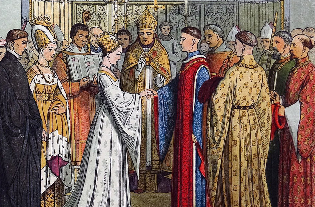Henry V's marriage to Catherine