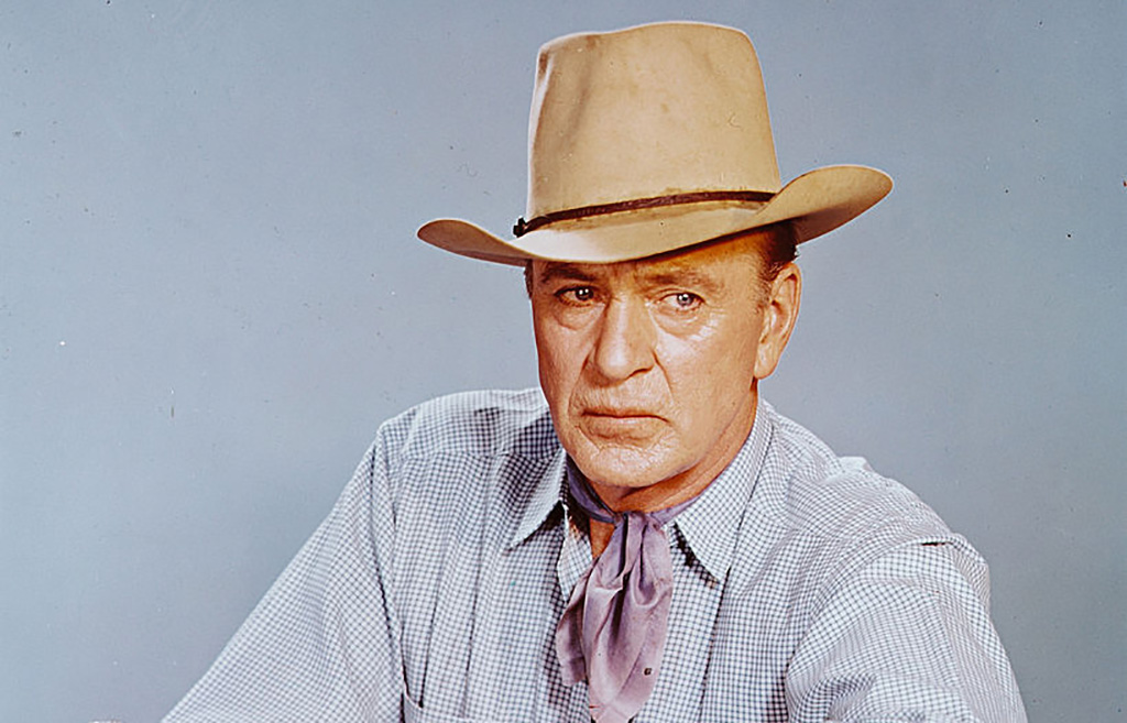 Cooper in a cowboy hat
