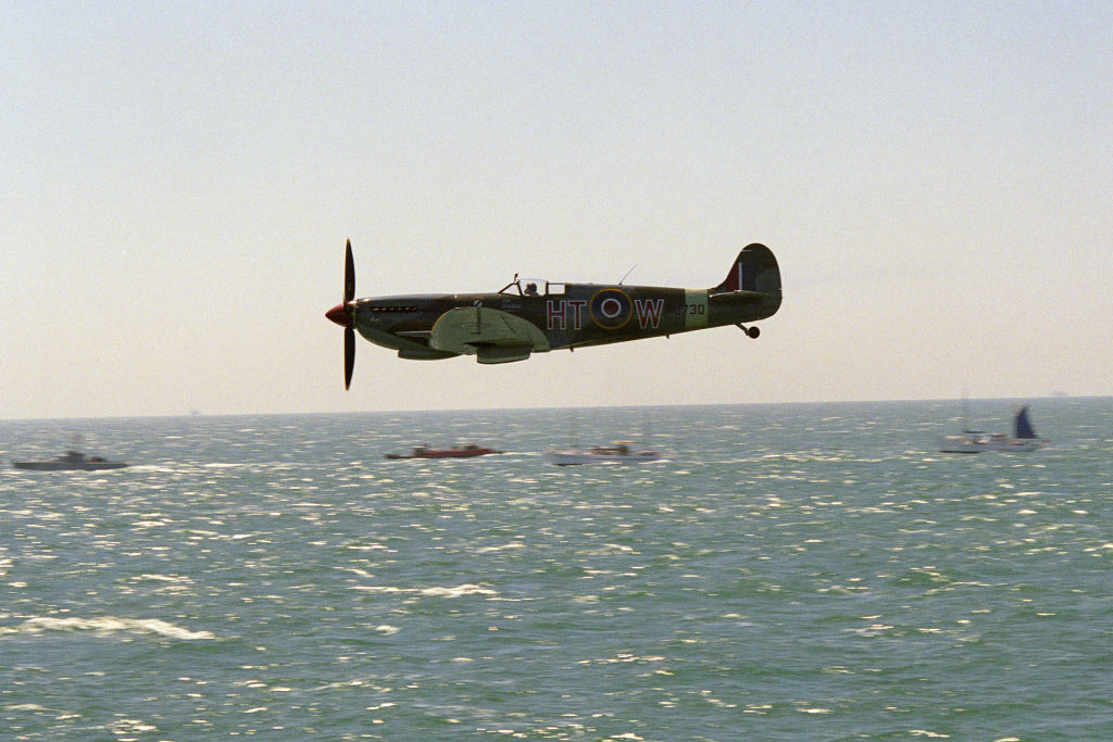 Plane during Dunkirk