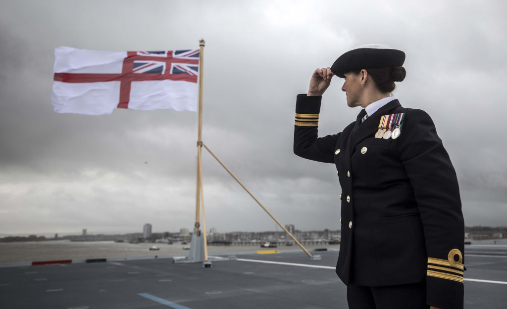 Every Job On The HMS Queen Elizabeth Is Open To Men And Women