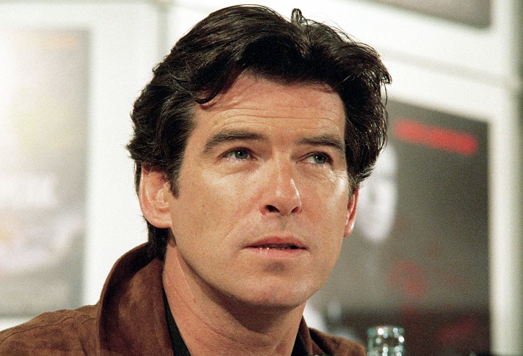 Hollywood-Star Pierce Brosnan alias James Bond.
