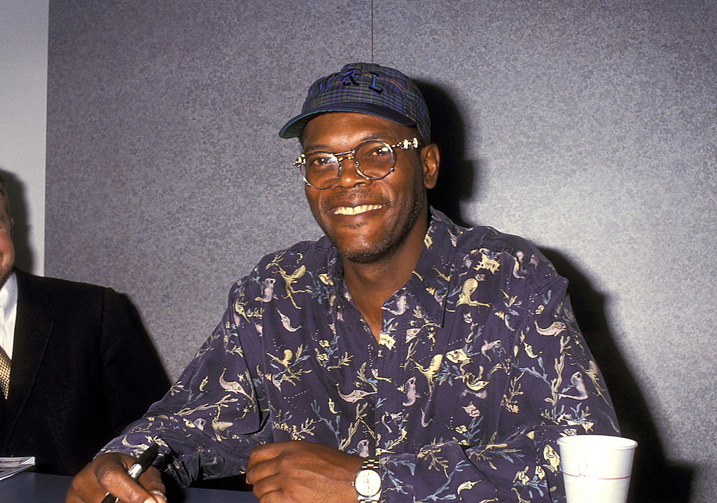 Samuel L. Jackson during Video Software Dealers Association Convention