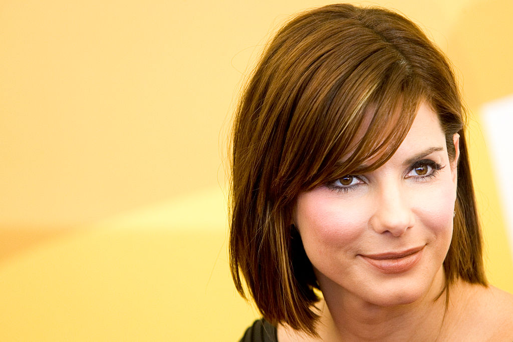 American actress Sandra Bullock at the photo call of
