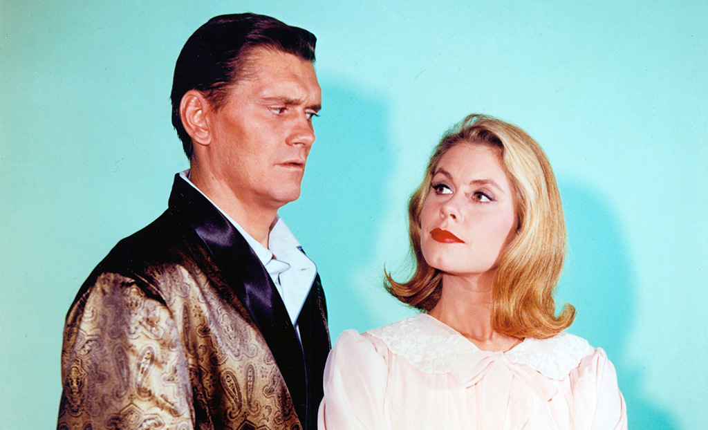 Elizabeth Montgomery and Dick York