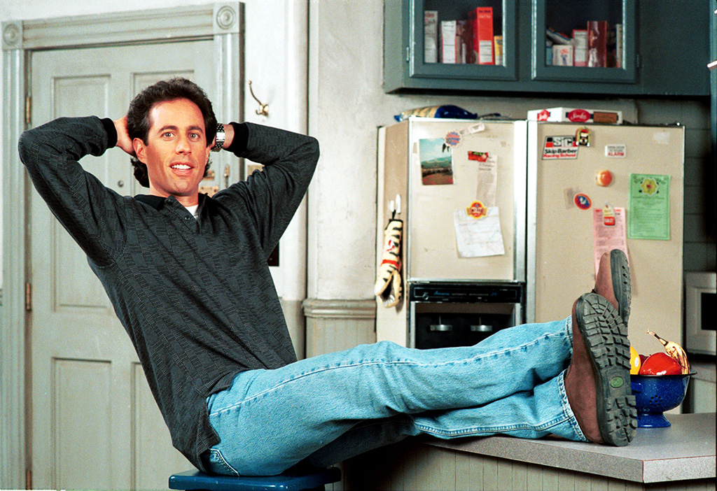 Jerry Seinfeld playing himself
