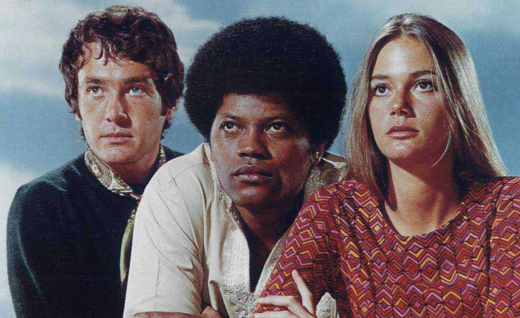 Peggy Lipton, Clarence Williams III and Michael Cole