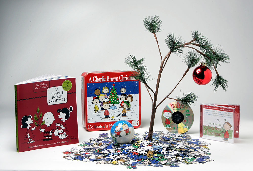 A charlie brown christmas merch