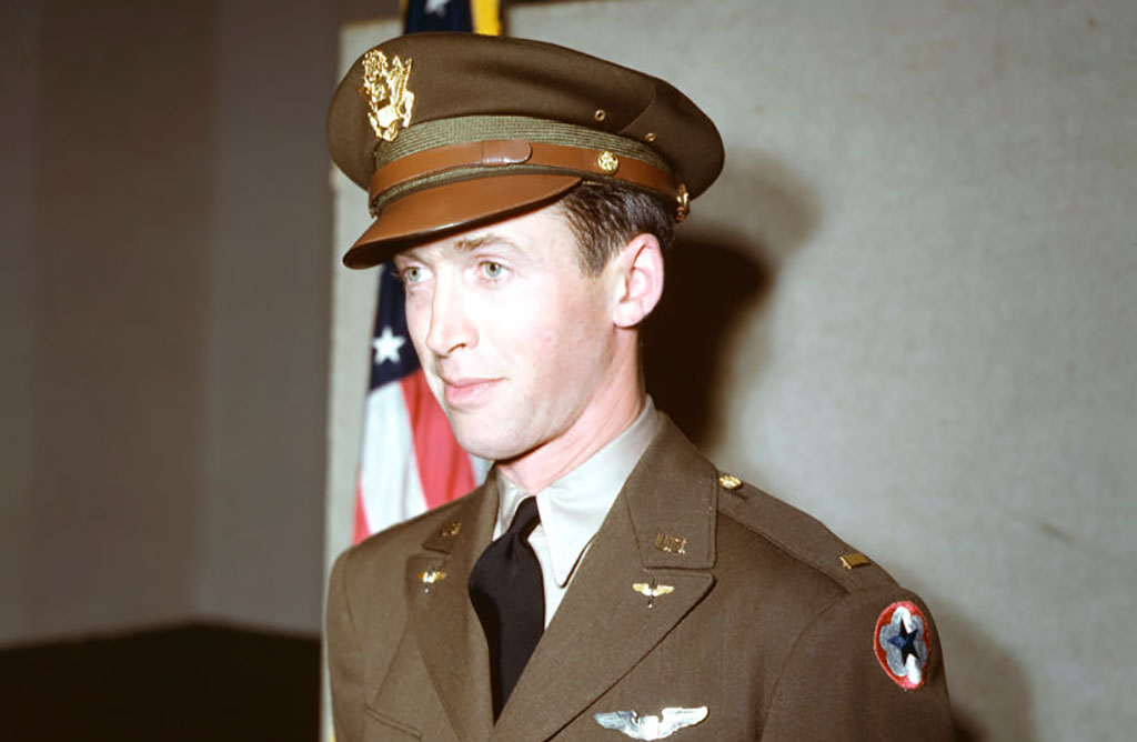 Stewart in uniform