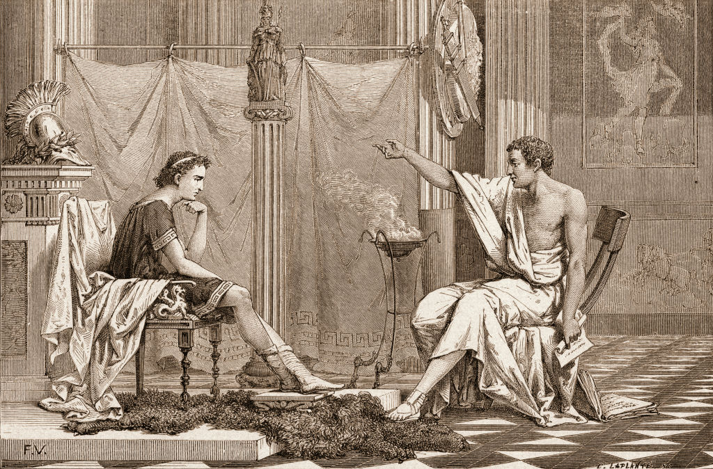 Alexander and Aristotle