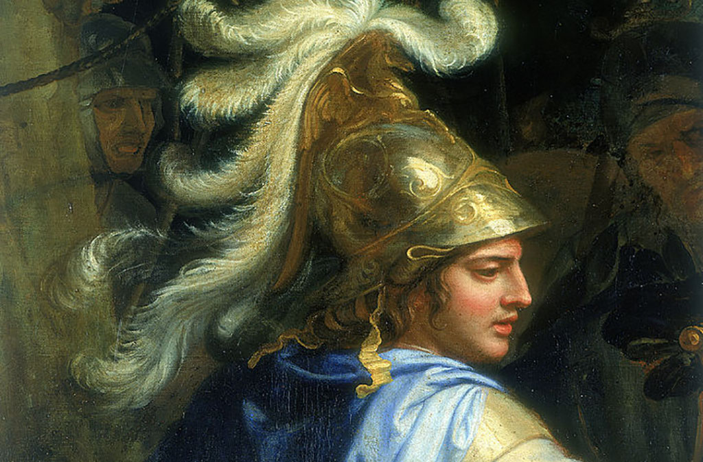 Painting of Alexander the Great