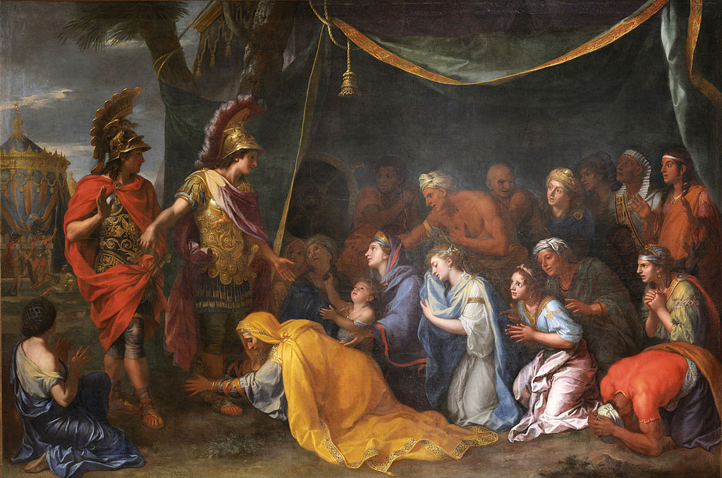 The Queens of Persia at Alexander's feet