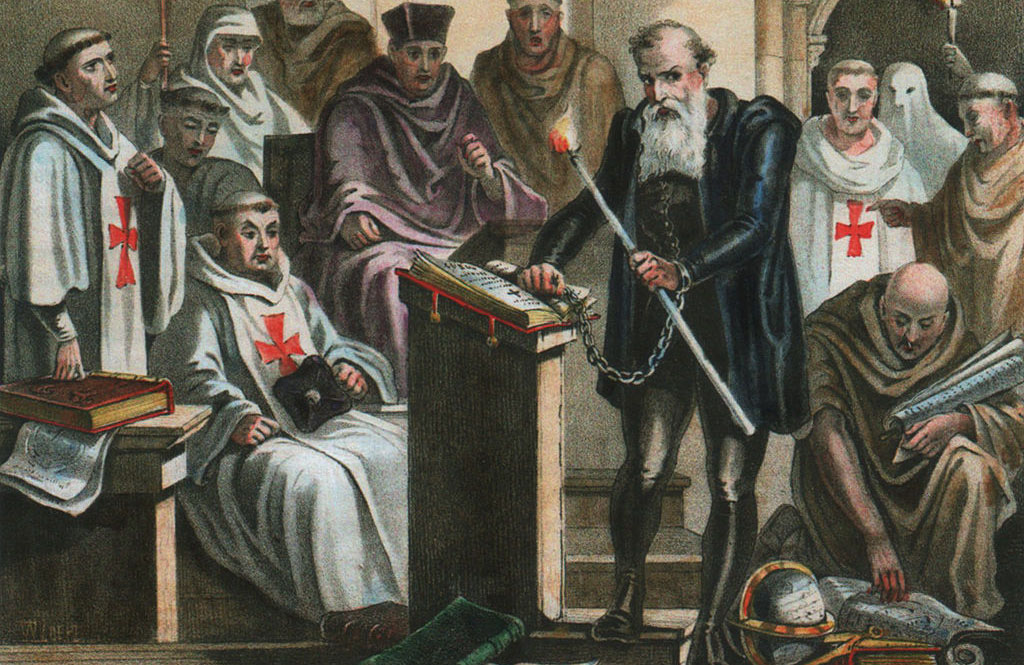 Galileo stands trial