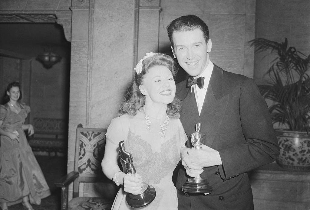 Jimmy Stewart and Ginger Rogers