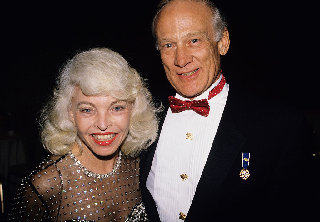 Aldrin with his wife