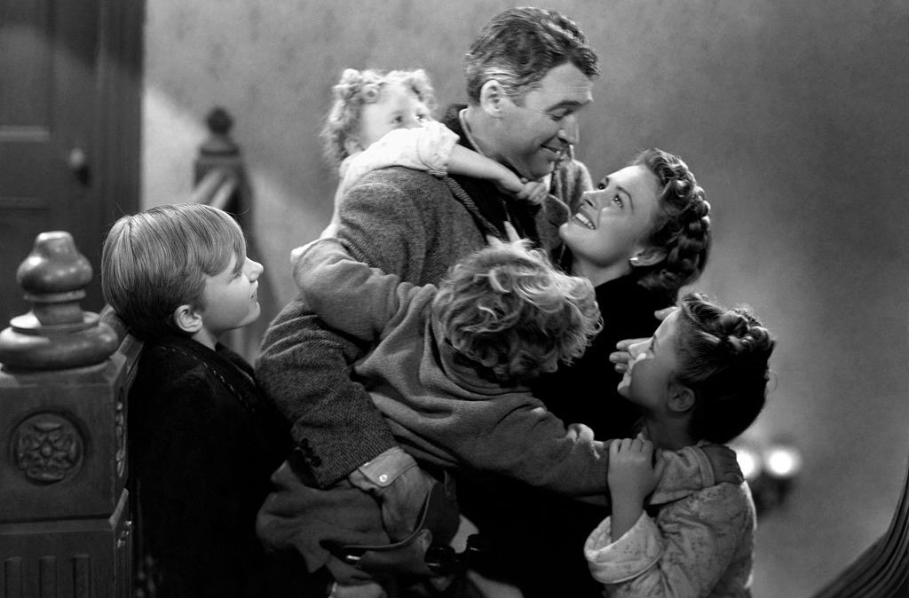 Stewart in It's A Wonderful Life
