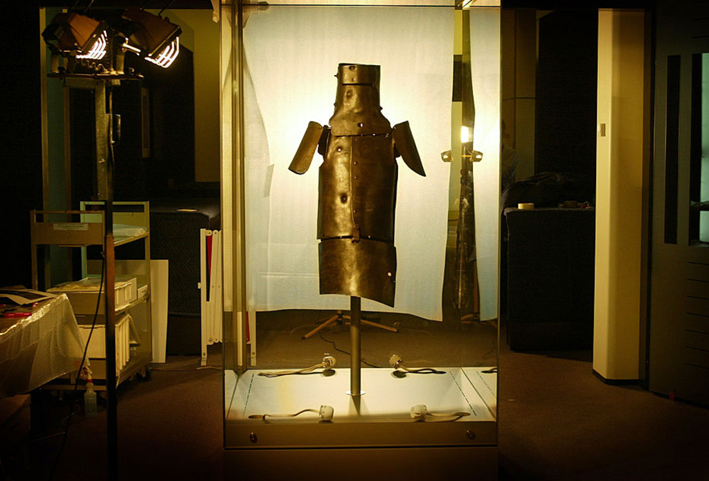 Ned Kelly's armor