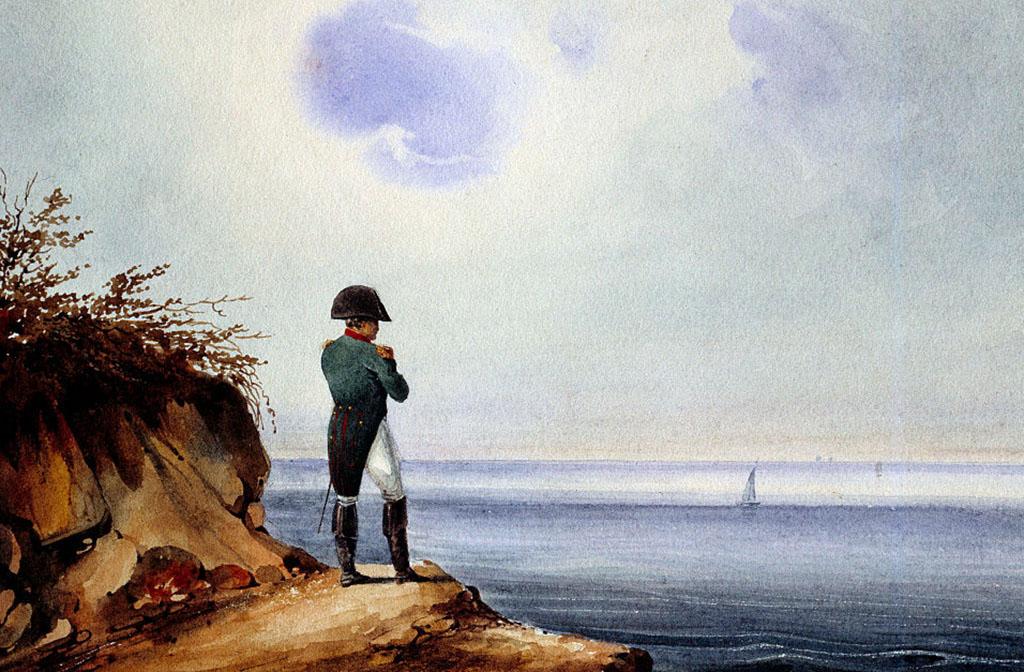 Napoleon exiled on St. Helena