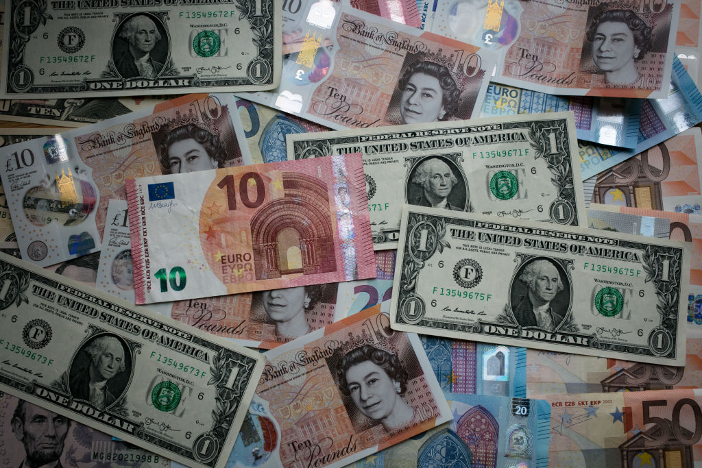 Dollars and pounds