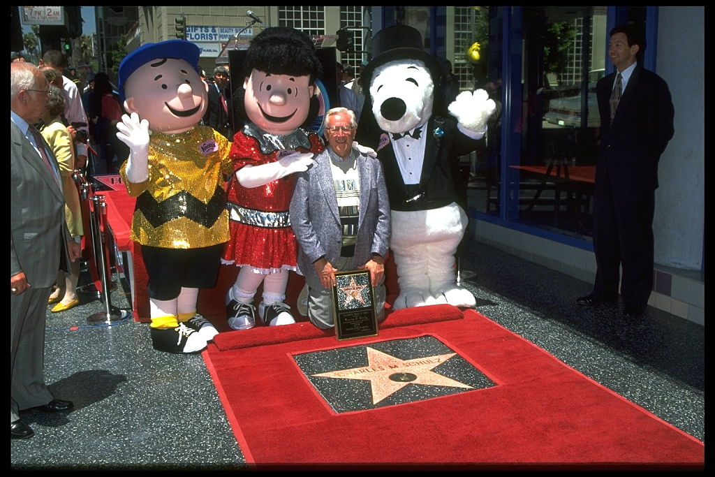 Schulz walk of fame