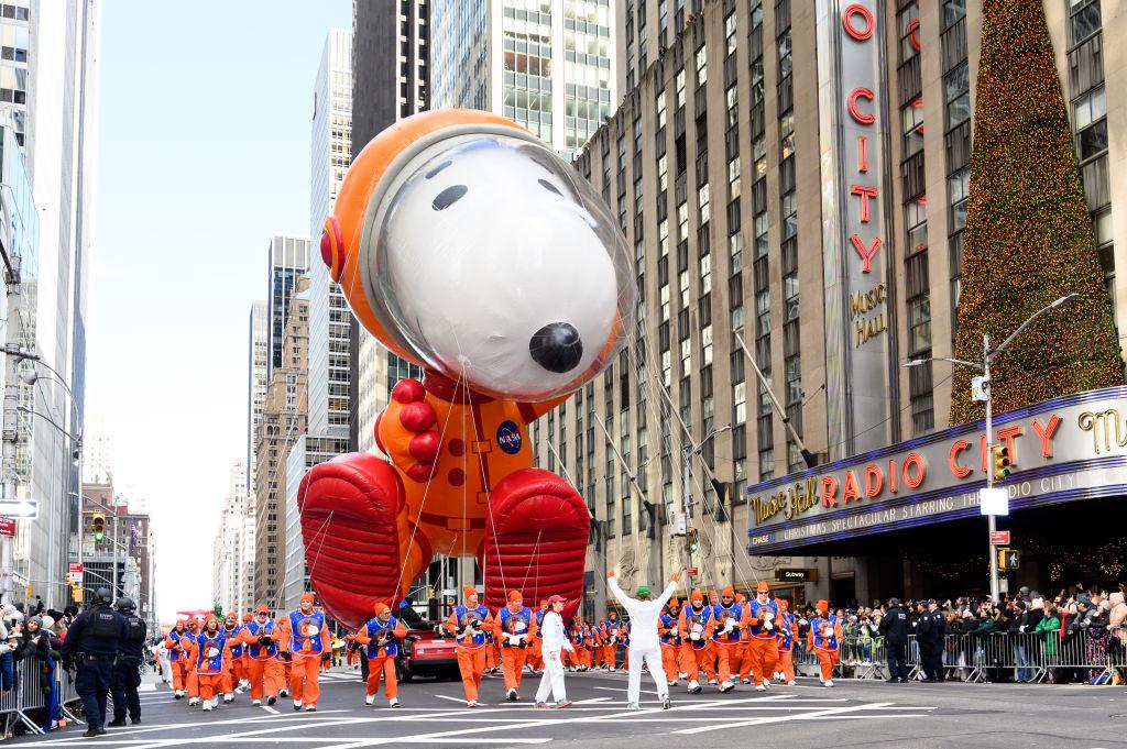 Snoopy parade